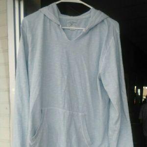 Lucky brand light blue hoodie